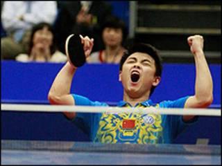 Wang Hao (Cortesía de la Federación Internacional de Tenis de Mesa)