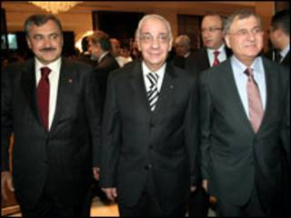 وزراء مياه سورية والعراق وتركيا