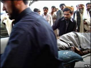 ضحايا غارة ناتو في افغانستان