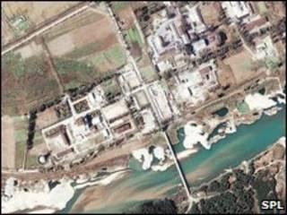 Instalações nucleares de Yongbyon, na Coreia do Norte