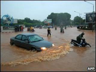 فيضانات بركينا فاسو