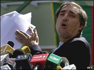 Abdullah Abdullah. Foto AP