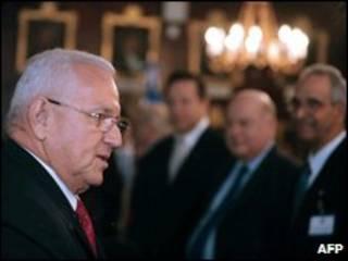 O presidente interino de Honduras, Roberto Micheletti
