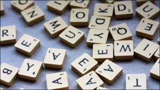 Letras de un juego de mesa