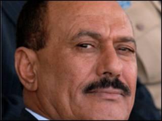 الرئيس اليمني علي عبد الله صالح