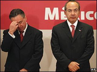 Eduardo Medina Mora, Felipe Calderón