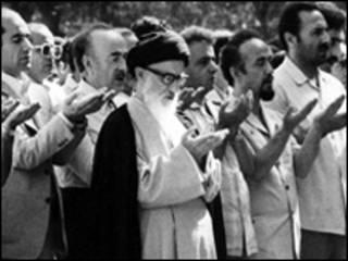 محمود طالقانی در نماز جمعه تهران