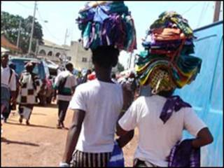 На улице столицы Гамбии