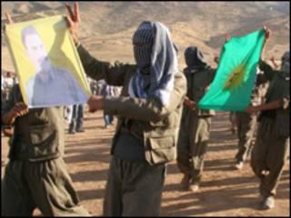 مناصرون  لحزب العمال الكردستاني في تركيا
