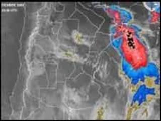 توفان در آمریکای جنوبی