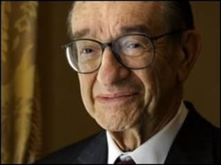 O ex-presidente do Fed Alan Greenspan