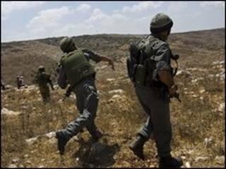 جنود اسرائيليون قرب نابلس