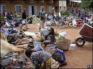 نازحون في بوركينا فاسو
