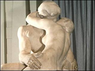 El beso de Auguste Rodin