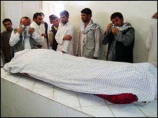 افغان يبكون منادي