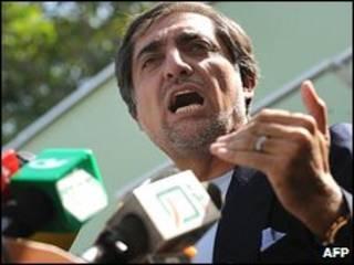 عبدالله عبدالله، نامزد ریاست جمهوری افغانستان