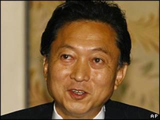El virtual nuevo primer ministro, Yukio Hatoyama