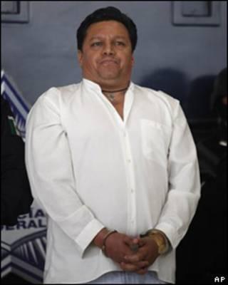 Josmar Flores, acusado de secuestrar un avión en México.