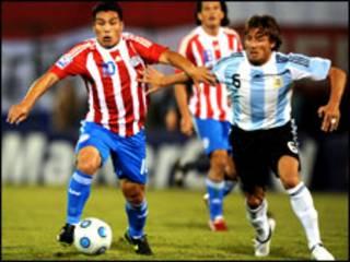 'yan wasan Paraguay