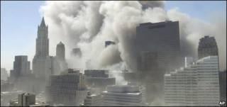 Hiện trường vụ tấn công 11/9/2001