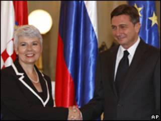 Премьер-министры Хорватии и Словении
