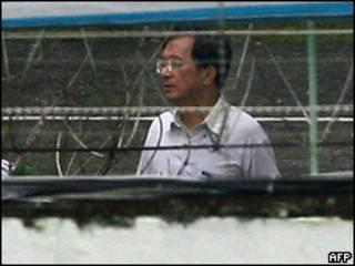 O ex-presidente de Taiwan Chen Shui-bian (AFP, 11 de setembro)