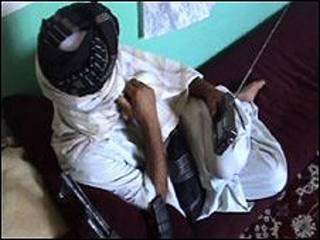 Combatiente talibán
