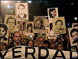 Marcha del Silencio en Montevideo en 2008