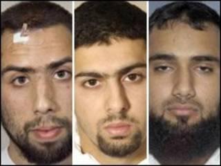 تنویر حسین، عبدالله احمد علی و اسد سرور