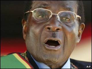 Robert Mugabe, presidente de Zimbabwe