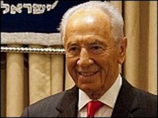 Simon Peres, presidente de Israel