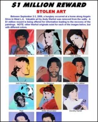 Các tác phẩm bị đánh cắp của Warhol