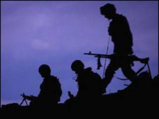 جنود بريطانيون في أفغانستان