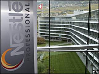 Sede de Nestlé en Vavey, Suiza