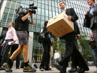 Oficinas de Lehman Brothers en Londres