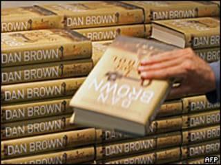 Ejemplares del nuevo libro de Dan Brown