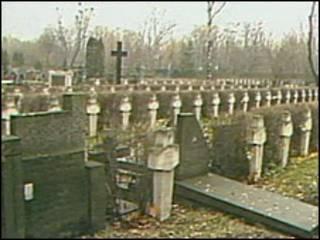 Кладбище в Катыни
