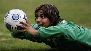 Jugadores del equipo de fútbol de Bolivia