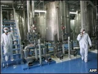 تصویر تأسیسات هسته ای ایران