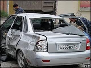تفجير سابق في جروزني
