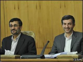 مشائی و احمدی نژاد