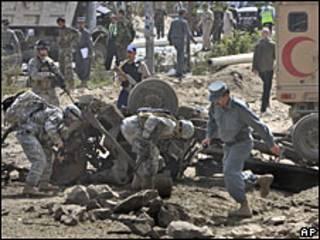 Ataque en Kabul.