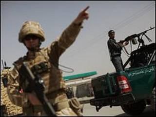 قوات في افغانستان