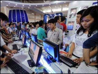 Thử Internet tại Hà Nội năm 2008