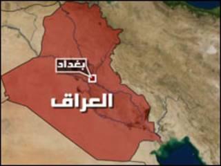 خارطة بغداد