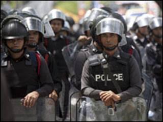 انتشار امني في بانكوك