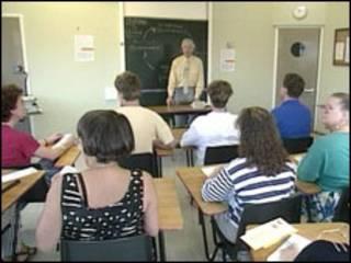 成人教育课堂