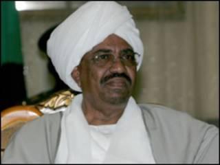 O presidente do Sudão, Omar el Bashir