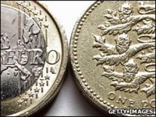 Euro y libra esterlina