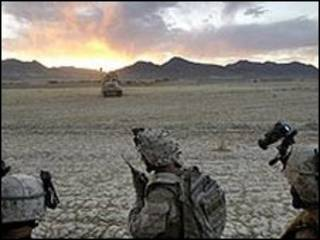سربازان آمریکایی در افغانستان